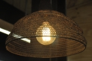 I liked the basket lampshades.