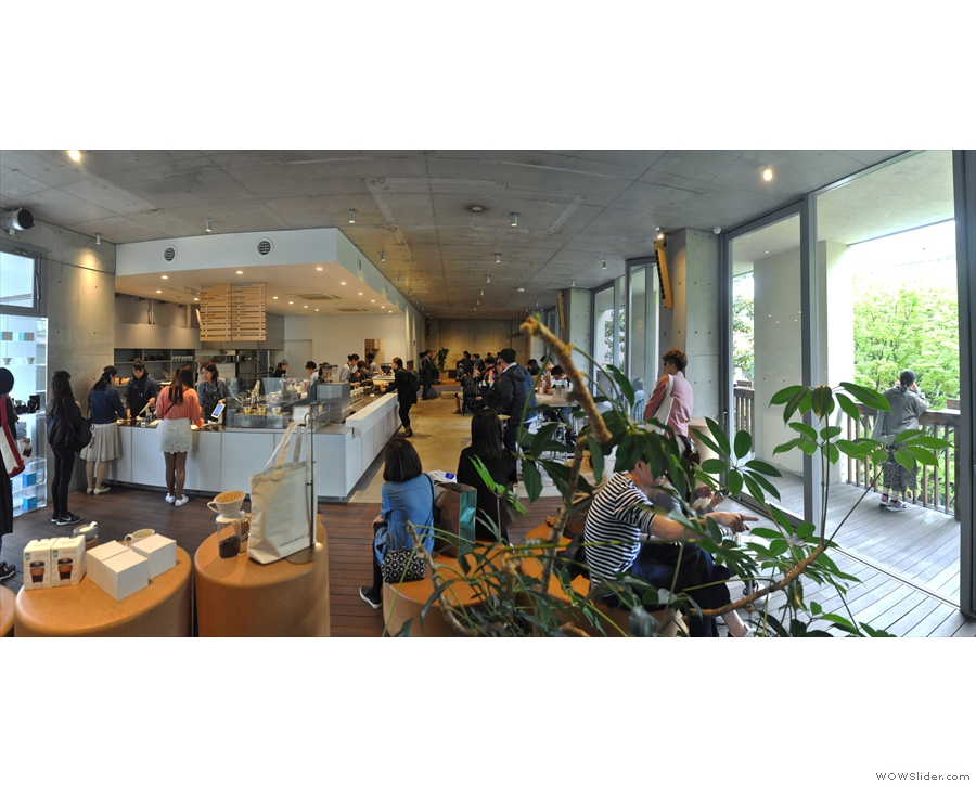 ... while Blue Bottle stretches out ahead and to the right of you as seen in this panorama.