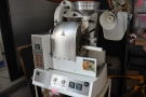 ... is the other side of Canvas. This lovely little roaster is tucked away behind the counter...