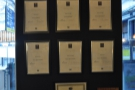 Canvas takes its staff training very seriously, with the qualifications displayed on the walls.