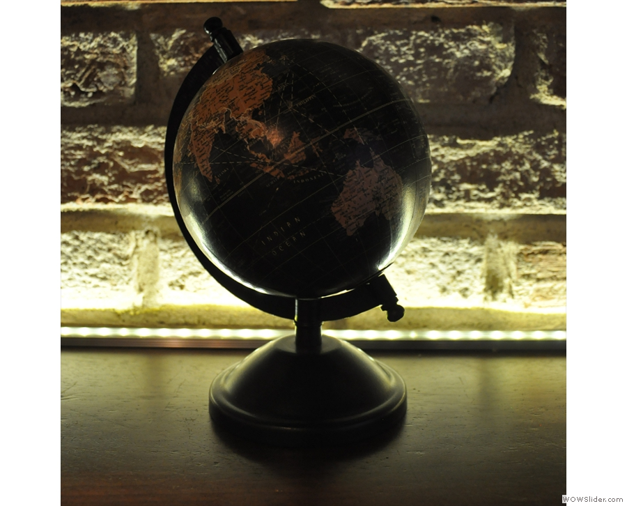 One of my favourites is this globe.