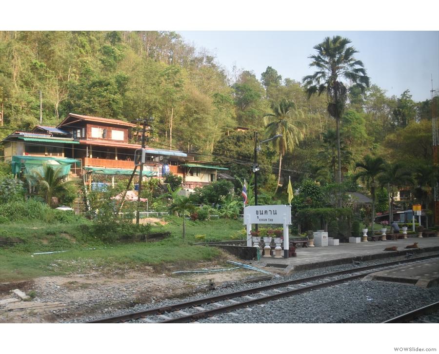 Next stop was Khun Tan.