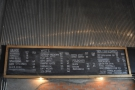 The menu, meanwhile, is chalked up above the counter.