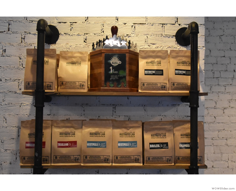 Unlike many Thai speciality coffee shops, Ristr8to has beans from all around the world.
