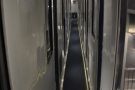 After my coffee, I went wandering down the narrow corridors of the sleeper cars...
