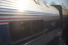 What's this, waiting for us in a passing loop? It's another Amtrak train! It must be our...