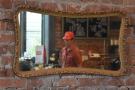 Cherry Espresso Bar Through the Looking Glass.