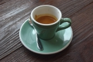 I had a very fine Thai single-origin espresso from Chiang Rai...