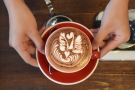 ... some quite wonderful latte art.