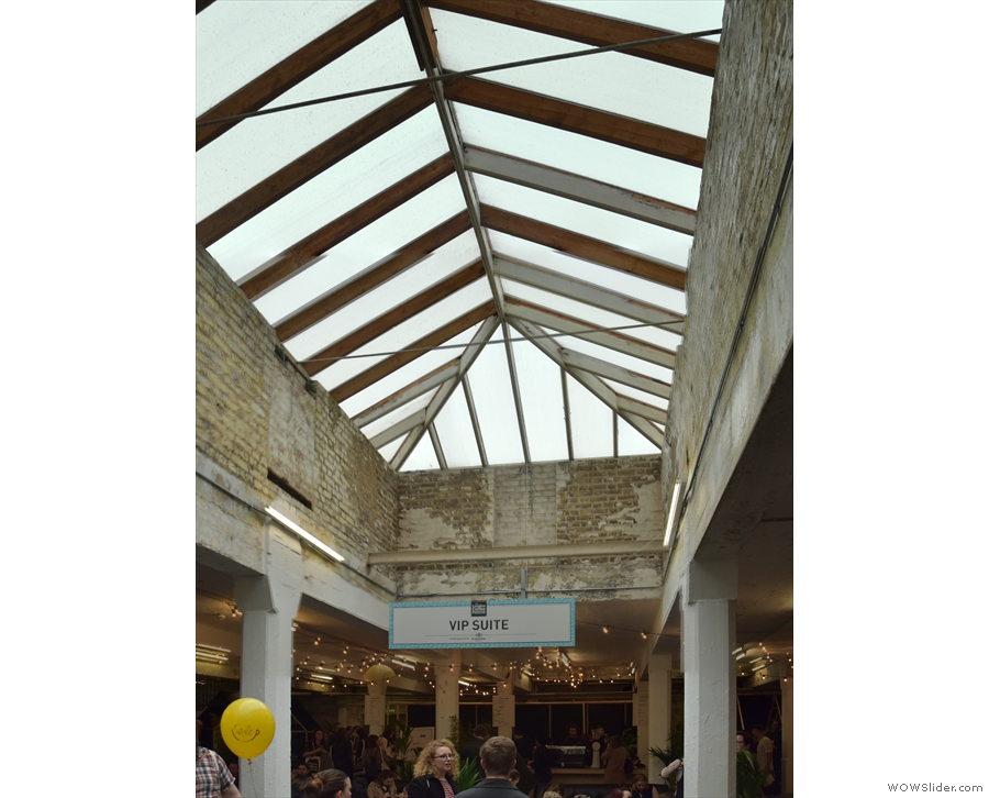 Perhaps best of all, Level 2 has lots of windows/light, including this awesome skylight.