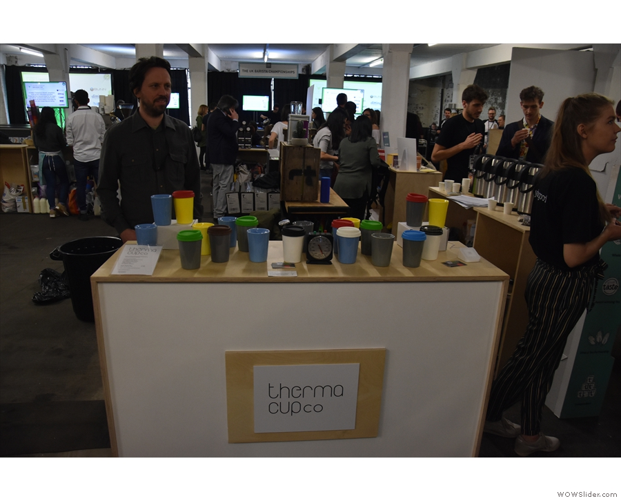 ... and Therma Cup, now launched as a standalone brand by designer, Jody Leach.