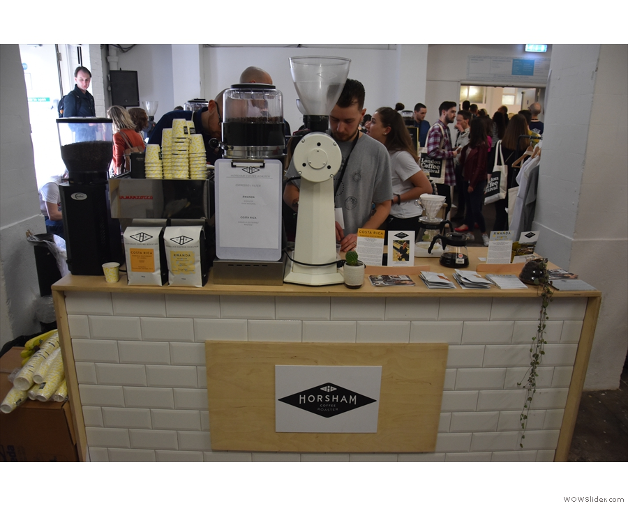 ... with many familiar names such as Atkinson (previous picture), Horsham Coffee Roaster...