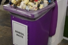 However, having recycling bins is one thing. Making people use them is another!