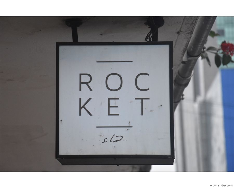 In case you were wondering (it's Rocket, not Roc-ket, bhy the way).