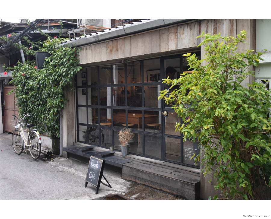 On a narrow lane, in the northeast corner of old Chiang Mai, stands this modest building.
