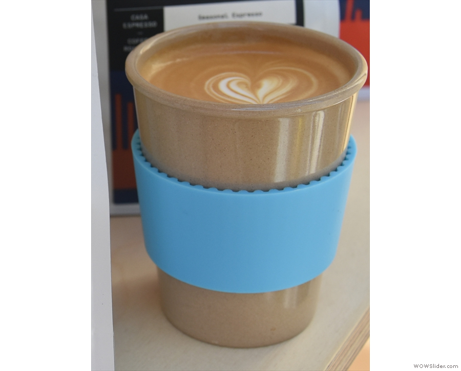 I made my own minor contribution. On Day 1, I brought my new EcoToGo Cup...