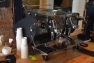 ... and I also love watching espresso extract, so I was in a very happy place!