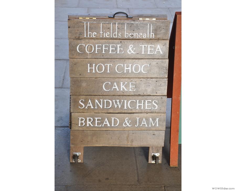 Nice A-board...