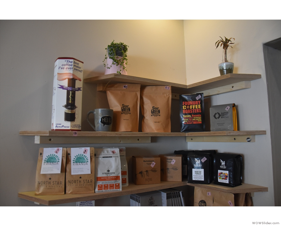 ... representing the various roasters that have graced It All Started Here in recent weeks.
