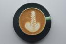 Impressive latte art from barista Joel.