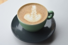 Here is is, in milk, as a flat white.