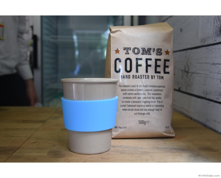 ... serving its own Brazilian espresso.