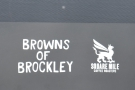 In case you missed it, it's the Browns of Brockley van, serving Square Mile.