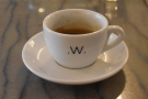 I went for the espresso, however, a single-origin Rwandan...