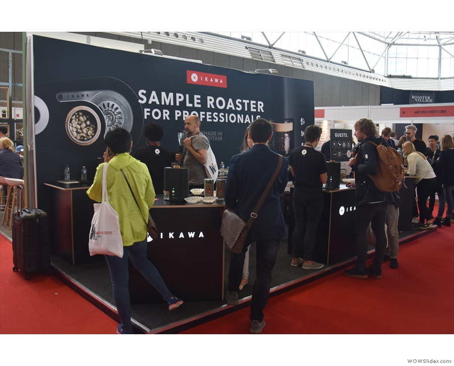 There were a host of familiar names from London Coffee Festival, such as Ikawa...