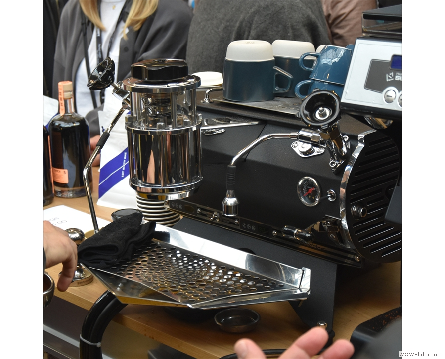 ... and here's a Speedster, again in the Roasters Village, with the new Idro-Matric fitted.