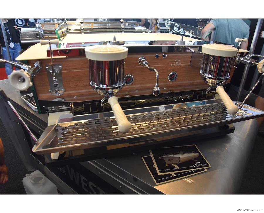 ... it is, like other Kees van der Westen machines, customisable.