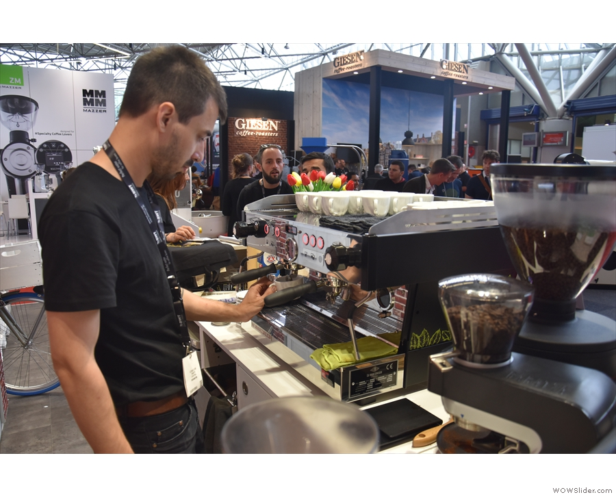 ... which is a new roaster from Bordeaux, serving, amongst other things...