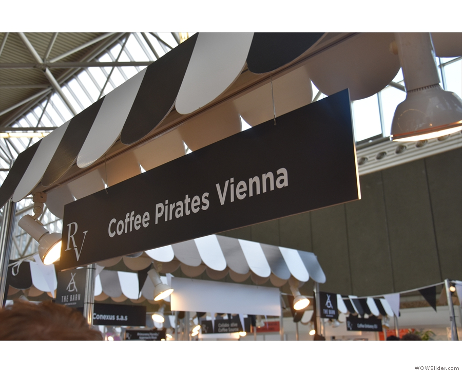 ... who go by the wonderful name of the Coffee Pirates.