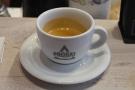 ... a decaf Peruvian on espresso.