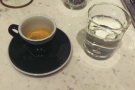 I decided to go with a shot of the house-blend espresso...