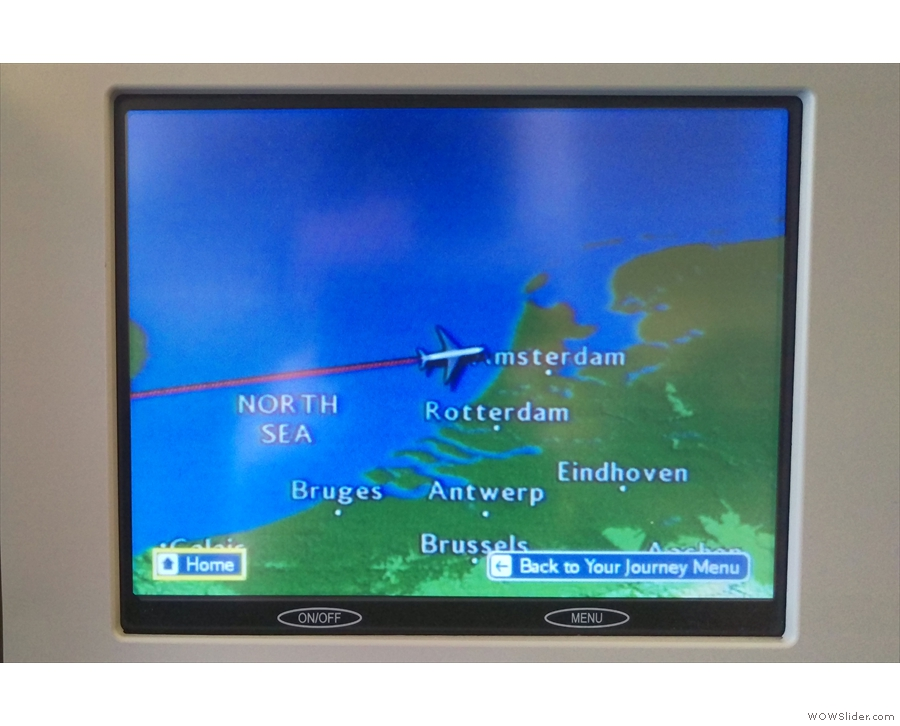 By this time, we were approaching the Dutch coast.