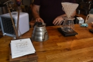 While I was there, a V60 for two was being prepared.
