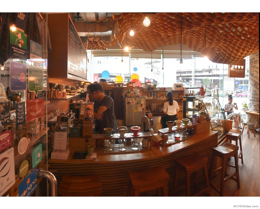 One of Bangkok's oldest speciality coffee shops is Drip Coffee Gallery, which is inside...