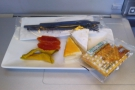 Lunch finished off with the customary cheese and biscuits, but no port for me this time.