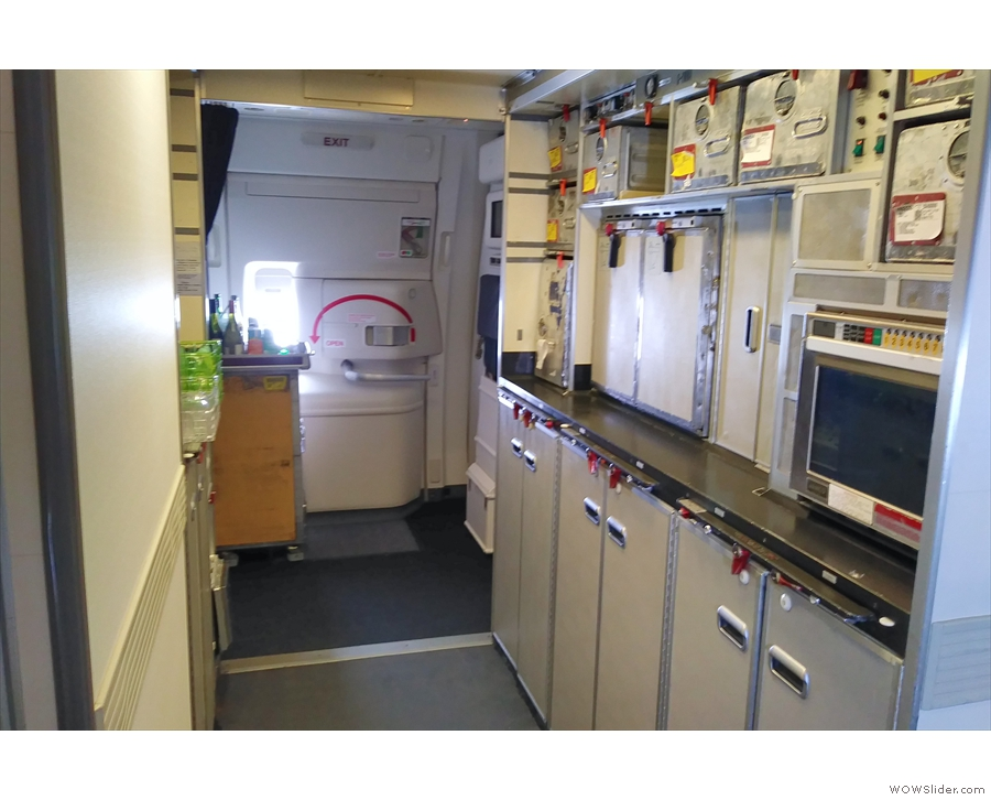 During my many wanderings, the rear galley was somewhere I spent a lot of time.