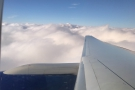 We descend towards the clouds...