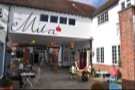 Cafe Mila, ideally located just off Godalming High Street