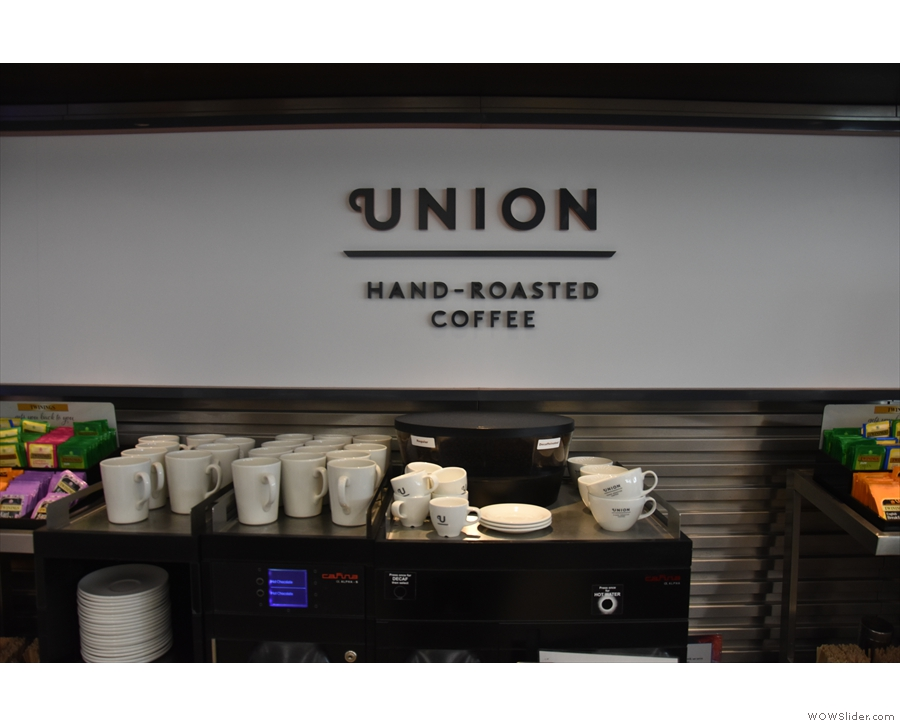 ... now serving Union Hand-roasted coffee after British Airways recently upped its game.