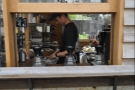 If you've ordered pour-over, you can go around to the side to watch it being made...