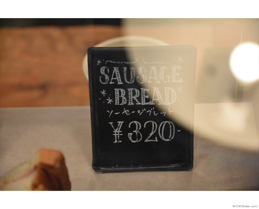 There are also savouries, such as Sausage Bread. What's that, I hear you ask...