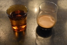 I followed all this up with a shot of the Burundi Kibingo as an espresso in a lovely glass.