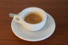 ... which I tried on its own in a thick, ceramic cup of the type I adore drinking from...