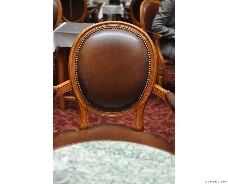 I do like the chairs.