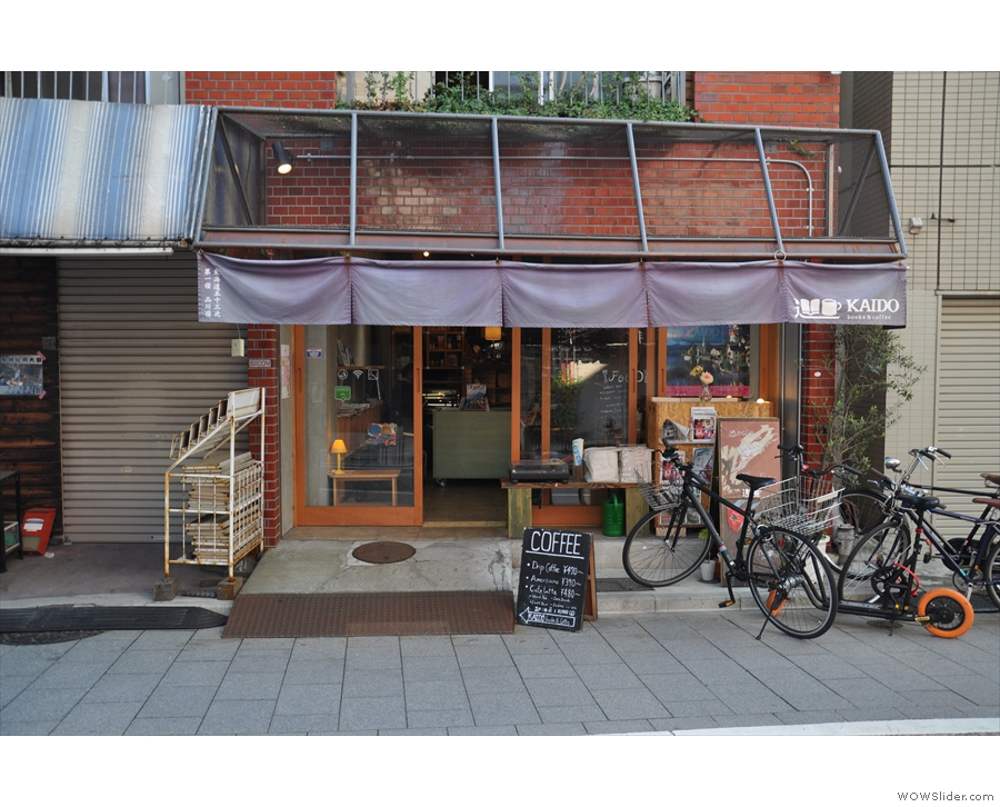 Home to Kaido Books & Coffee, it's near where I stayed on my first visit to Tokyo in 2017.