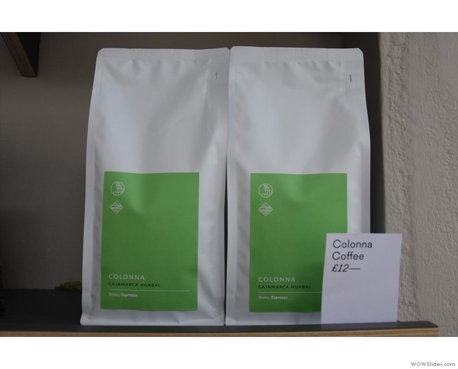 ... Bath's Colonna Coffee.